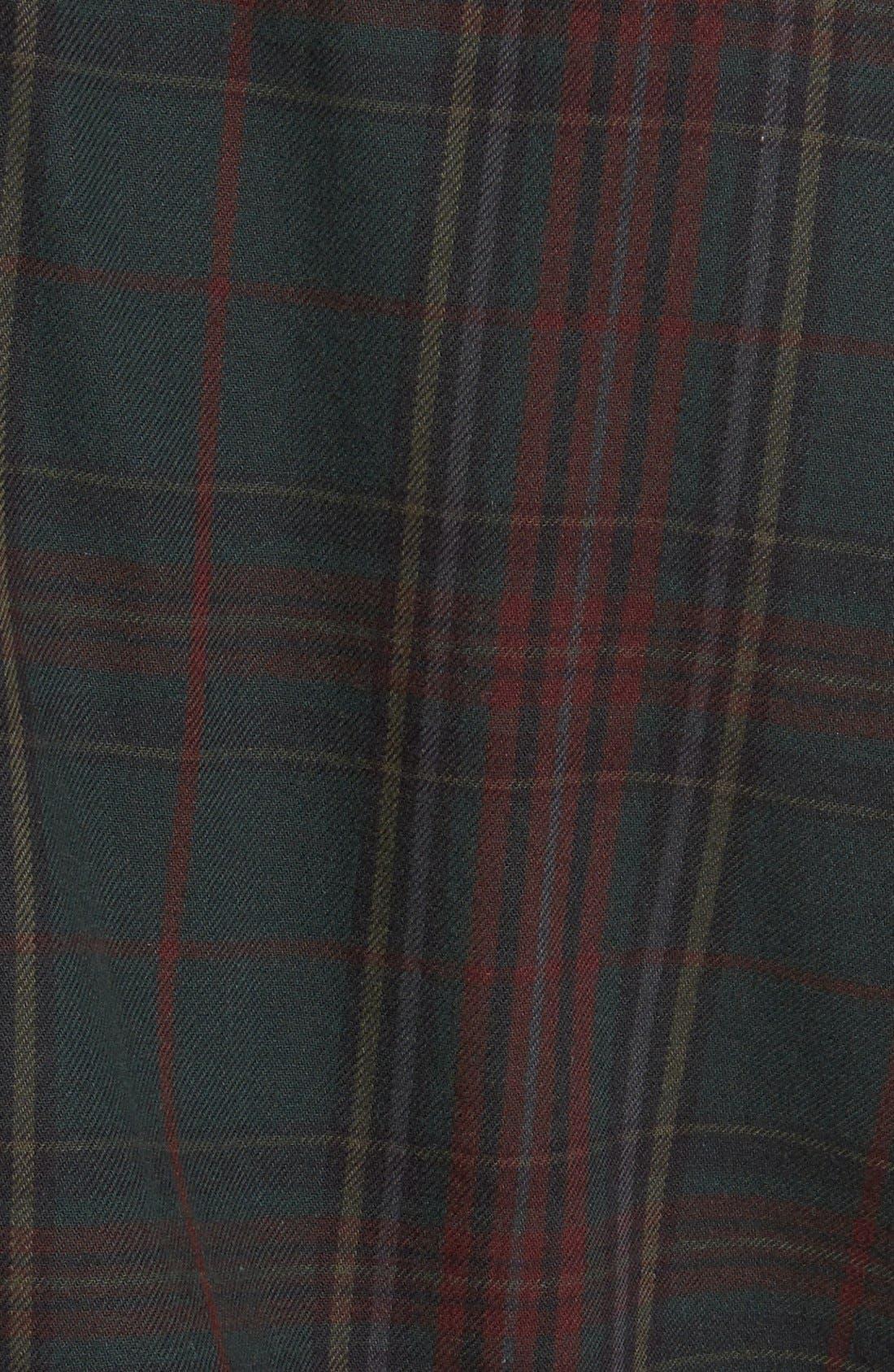 Alternate Image 3  - Topman Classic Fit Tartan Plaid Flannel Shirt