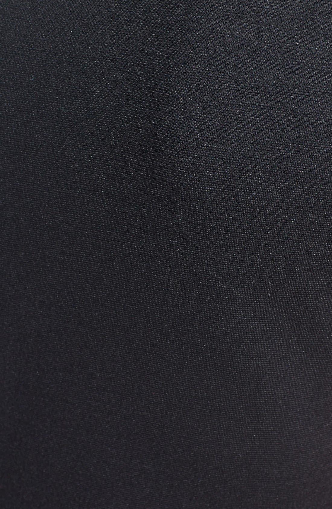 Alternate Image 4  - B44 Dressed by Bailey 44 'Fashion Doll' Faux Leather Sleeves Sheath Dress
