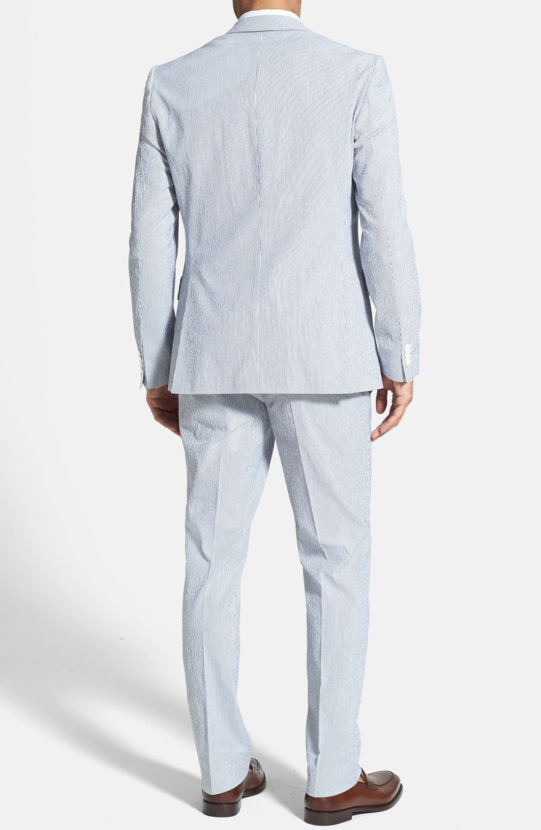 Alternate Image 2  - BOSS HUGO BOSS 'Nestor/Knox' Trim Fit Stretch Cotton Suit