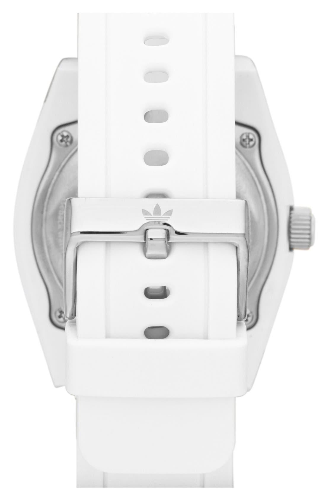 Alternate Image 2  - adidas Originals 'Brisbane' Silicone Strap Watch, 42mm