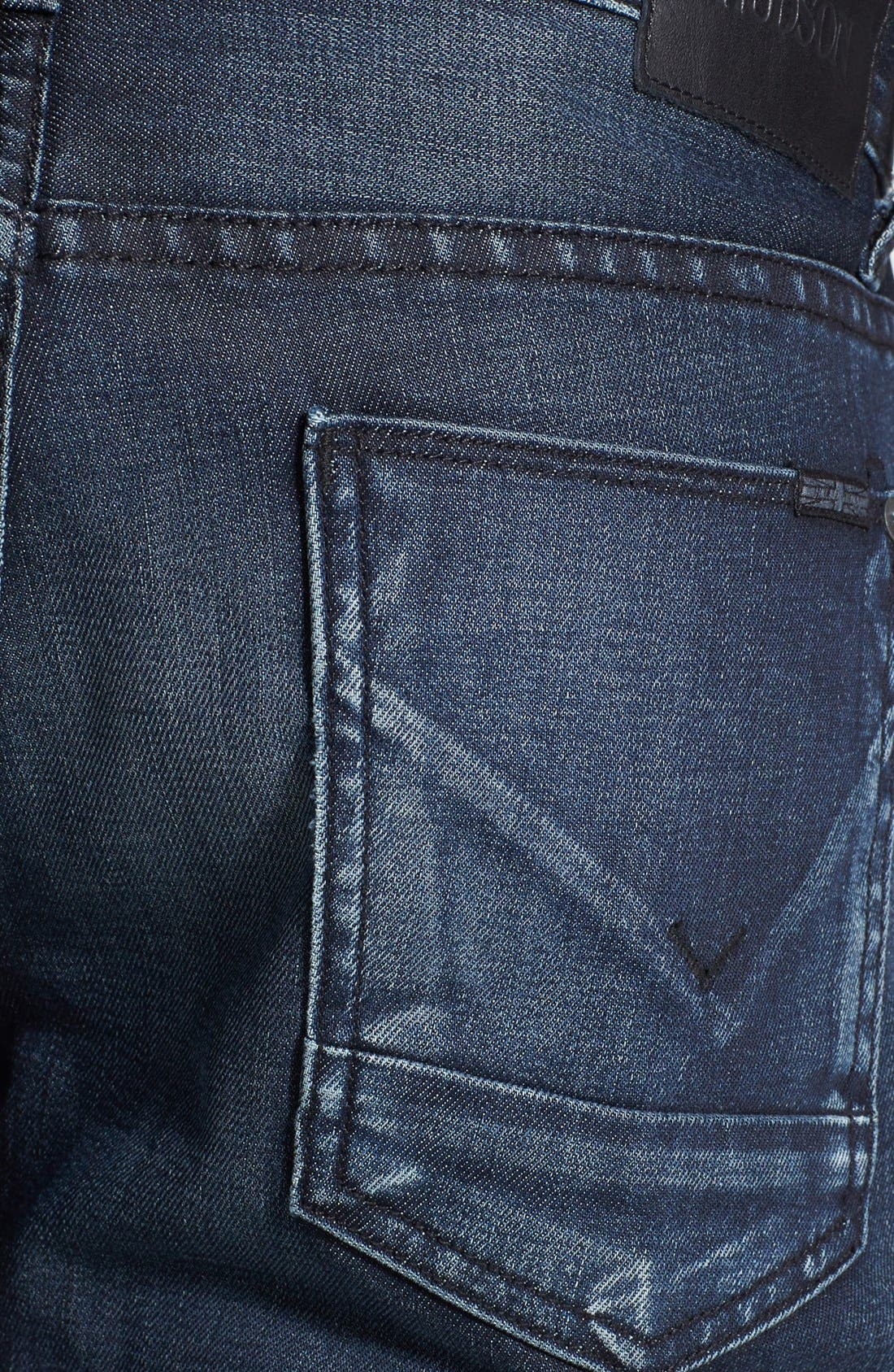 Alternate Image 4  - Hudson Jeans 'Blake' Slim Straight Leg Jeans (Darkness)