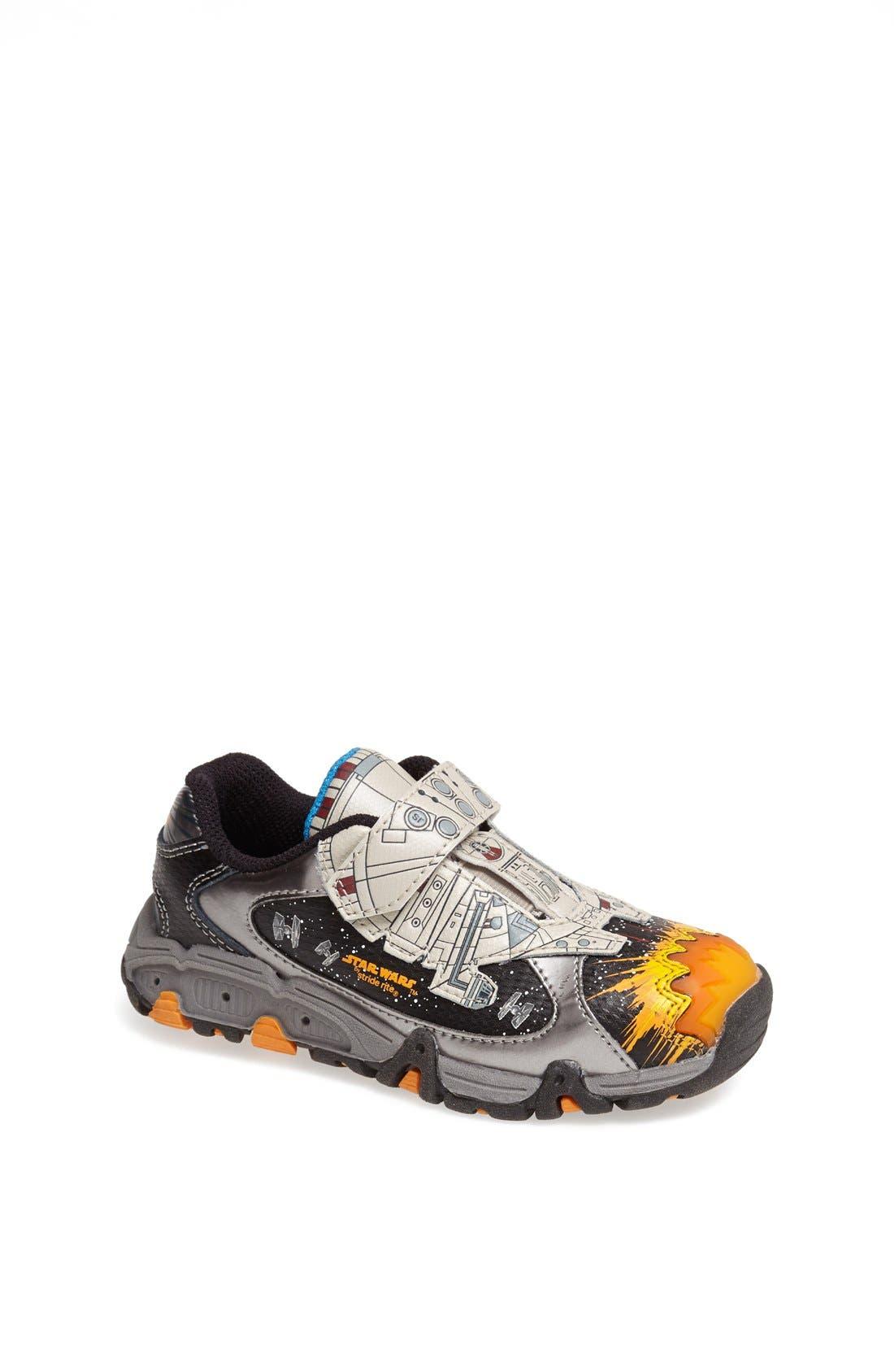 Alternate Image 1 Selected - Stride Rite 'Star Wars™  - Millenium Falcon™' Light-Up Sneaker (Toddler & Little Kid)