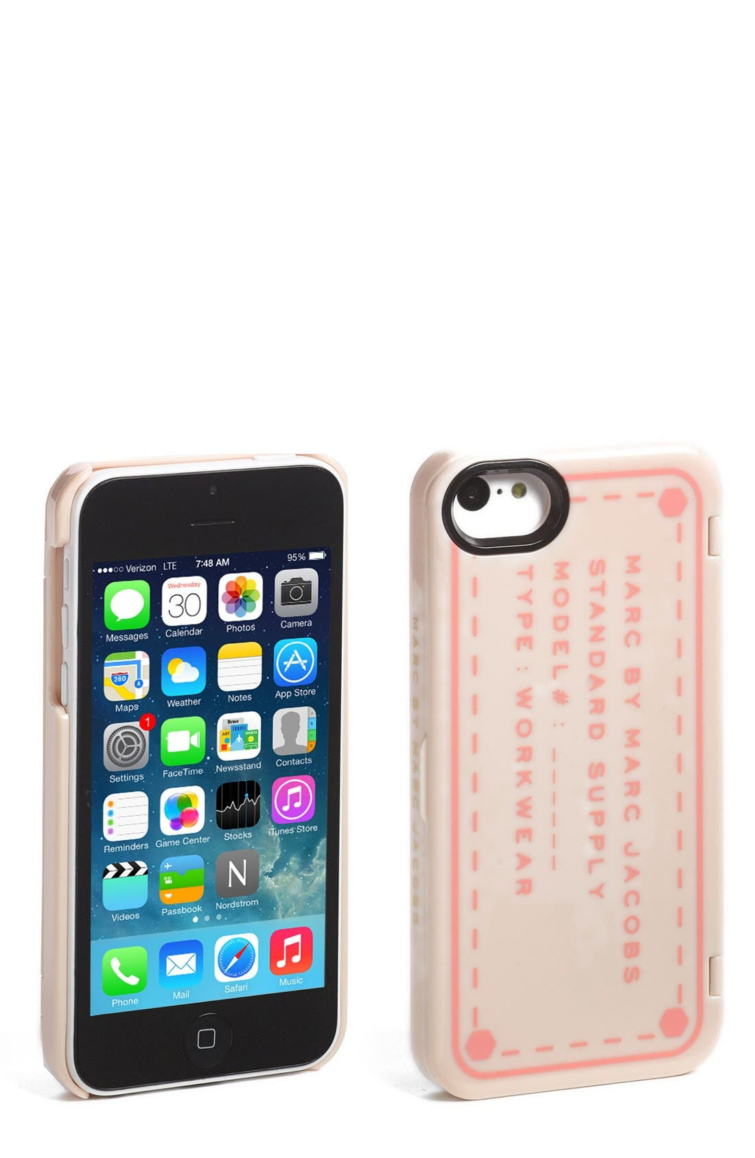 Alternate Image 1 Selected - MARC BY MARC JACOBS iPhone 5s Case