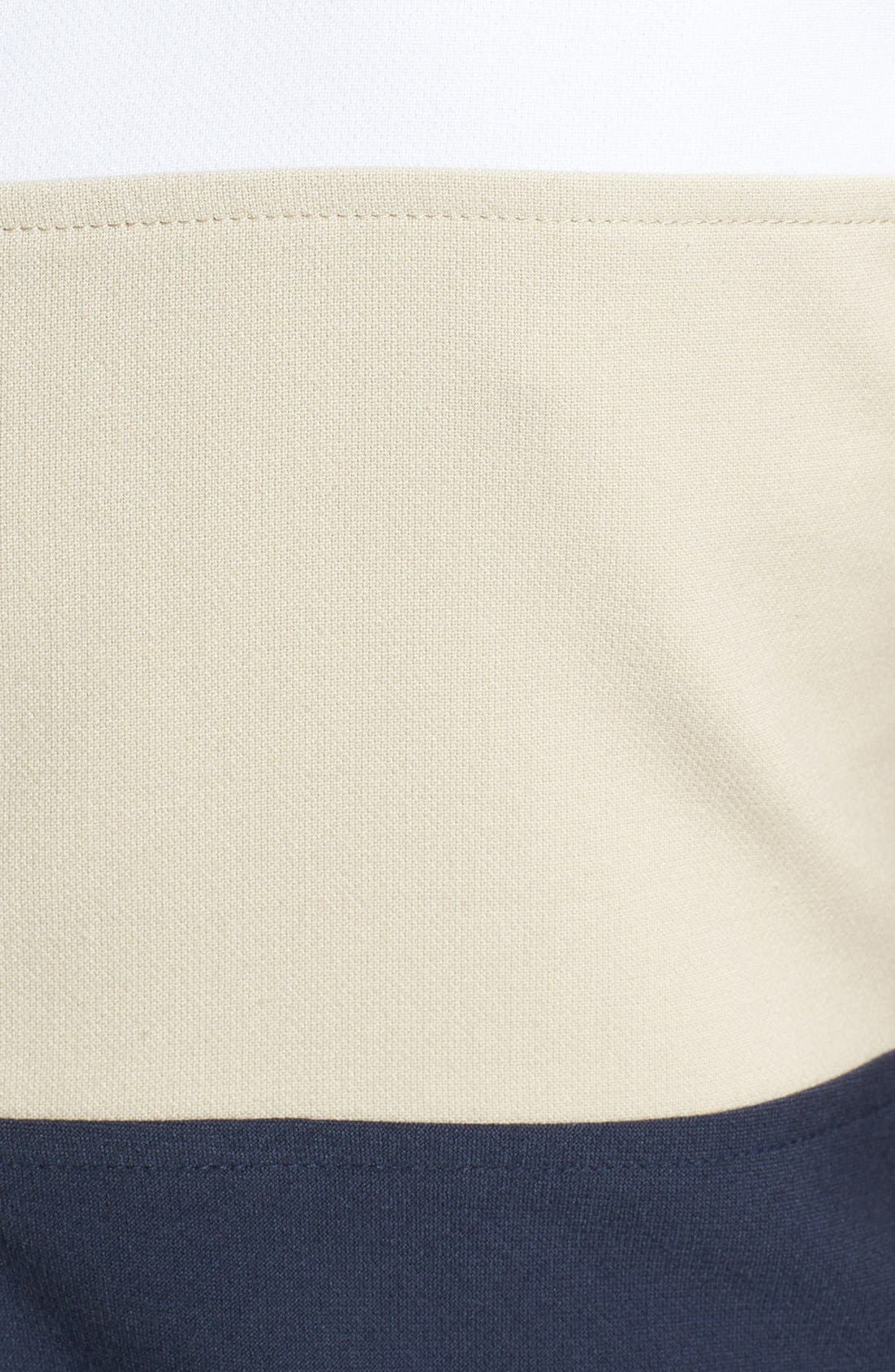 Alternate Image 3  - MICHAEL Michael Kors Colorblock Fit & Flare Dress (Regular & Petite)