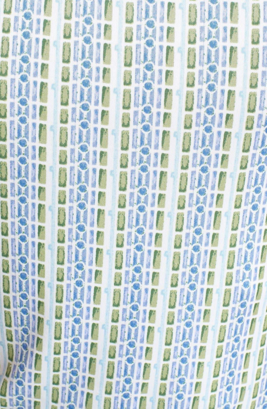 Alternate Image 3  - Tory Burch 'Micky' Silk Blouson Maxi Dress