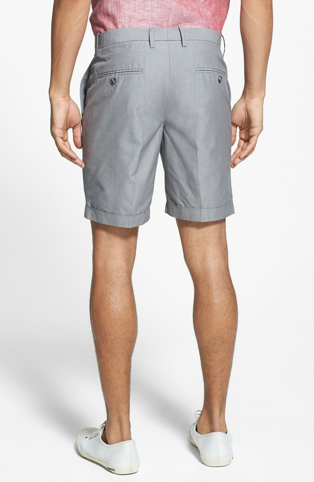 Alternate Image 2  - Original Penguin Tailored Cuffed Trouser Shorts