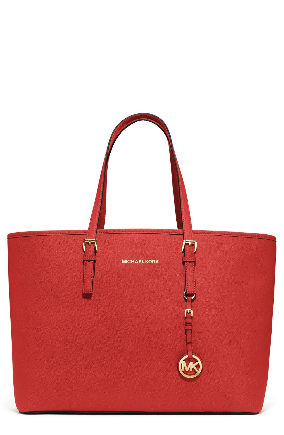 Alternate Image 1 Selected - MICHAEL Michael Kors Saffiano Leather Tote