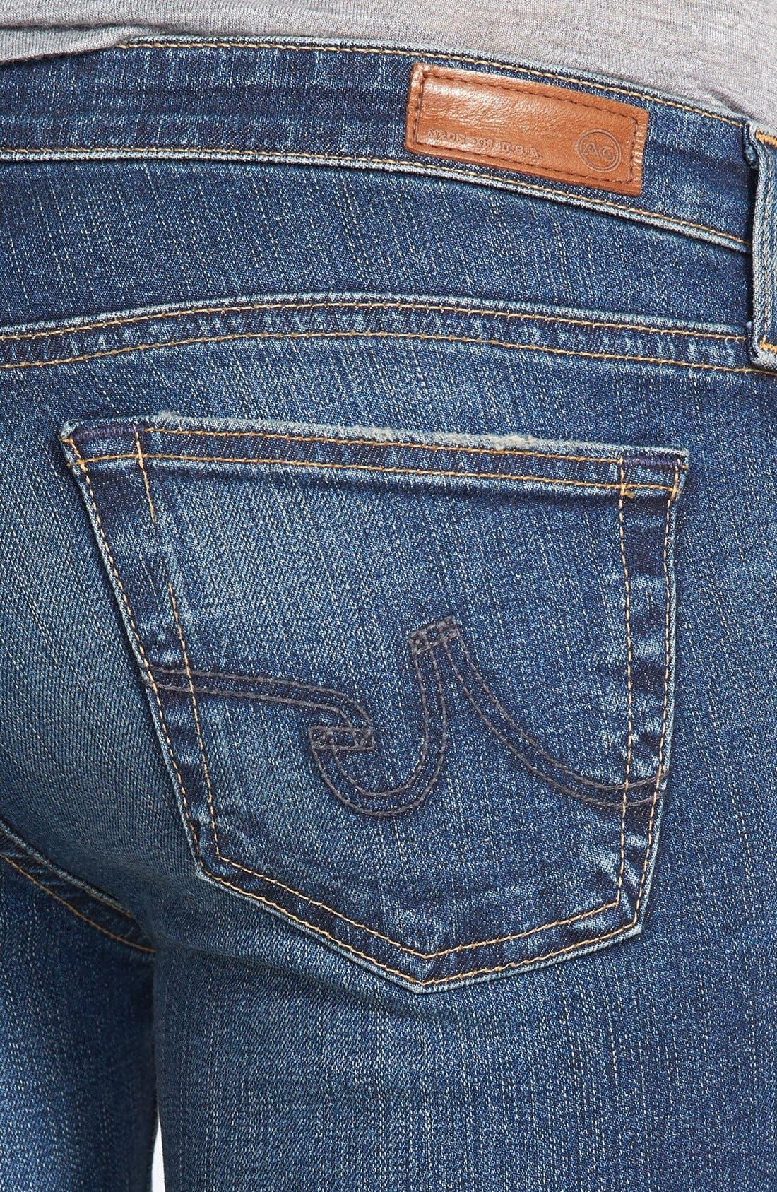 Alternate Image 3  - AG 'The Legging' Super Skinny Jeans (60-Year Dive)