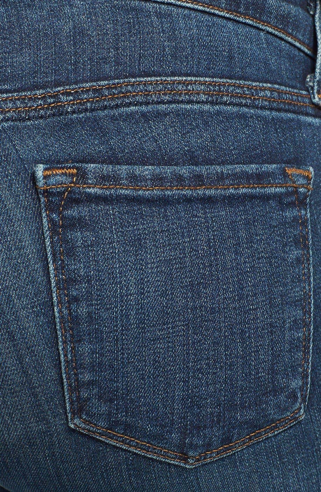 Alternate Image 3  - J Brand 'Rail' Skinny Maternity Jeans (Eminence)