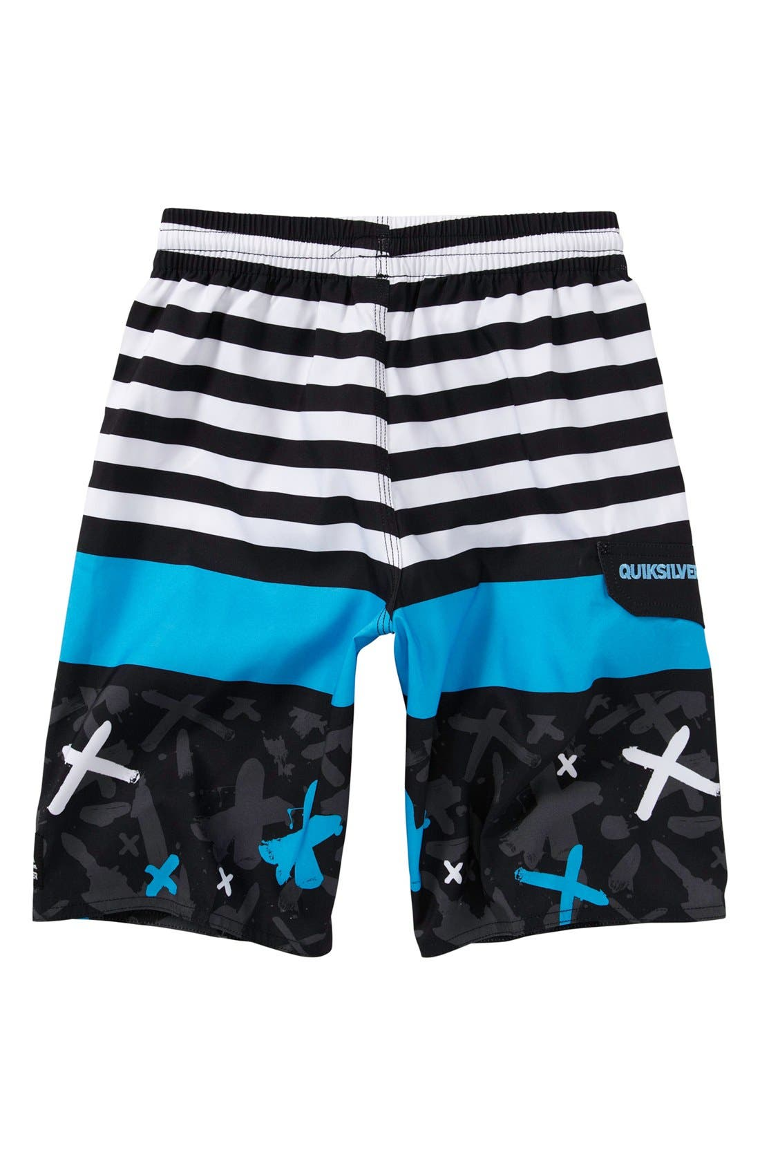 Alternate Image 2  - Quiksilver 'Way Out Volley' Board Shorts (Toddler Boys)