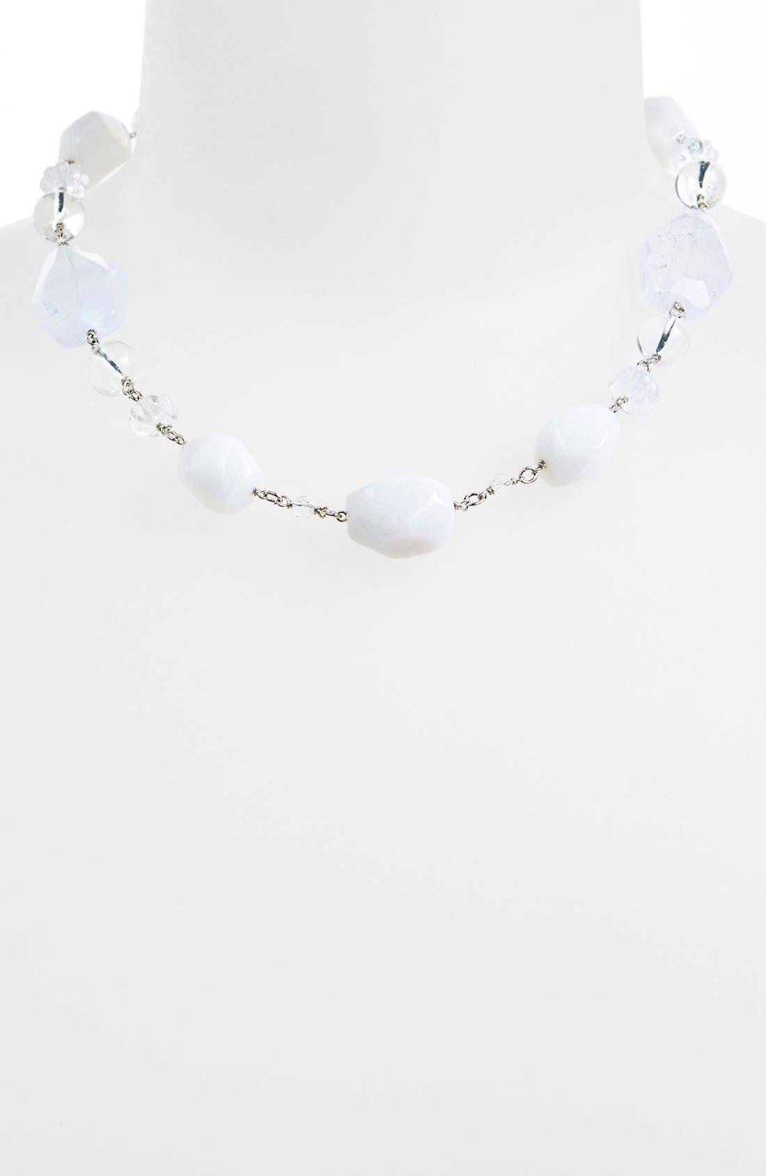 Alternate Image 1 Selected - Lauren Ralph Lauren Beaded Collar Necklace