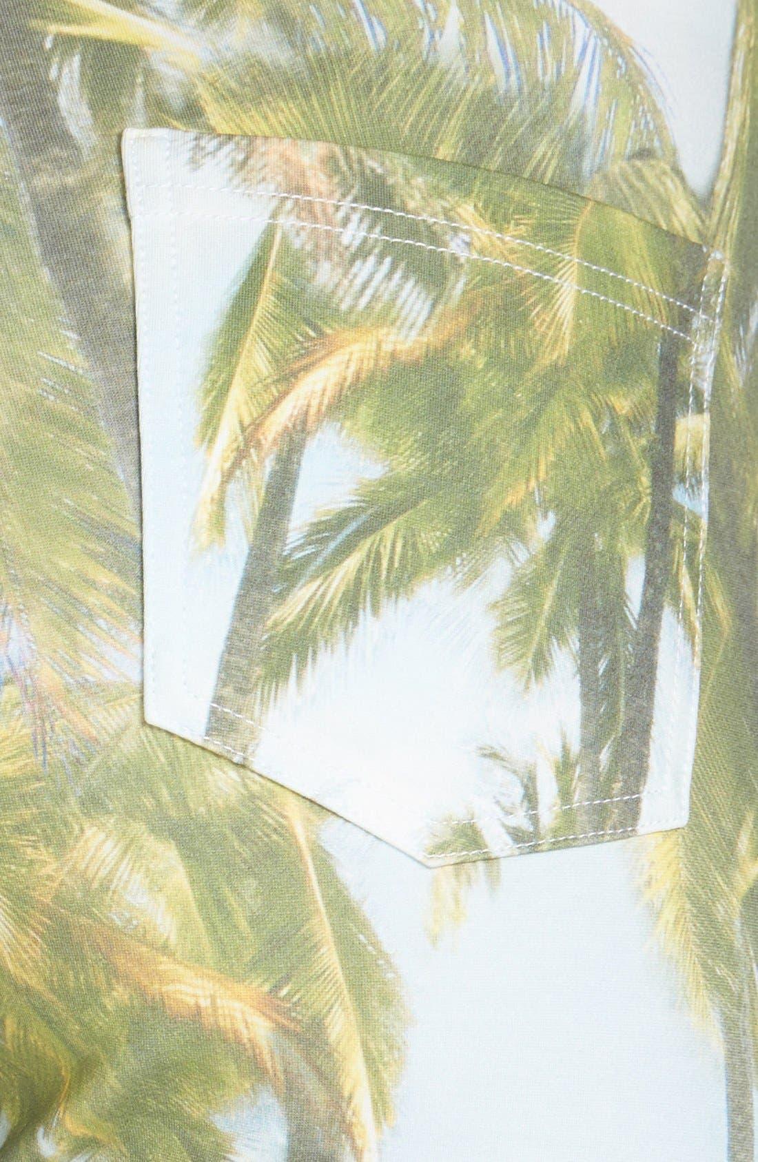 Alternate Image 3  - Hue 'Tropical Sleek' Ponte Leggings
