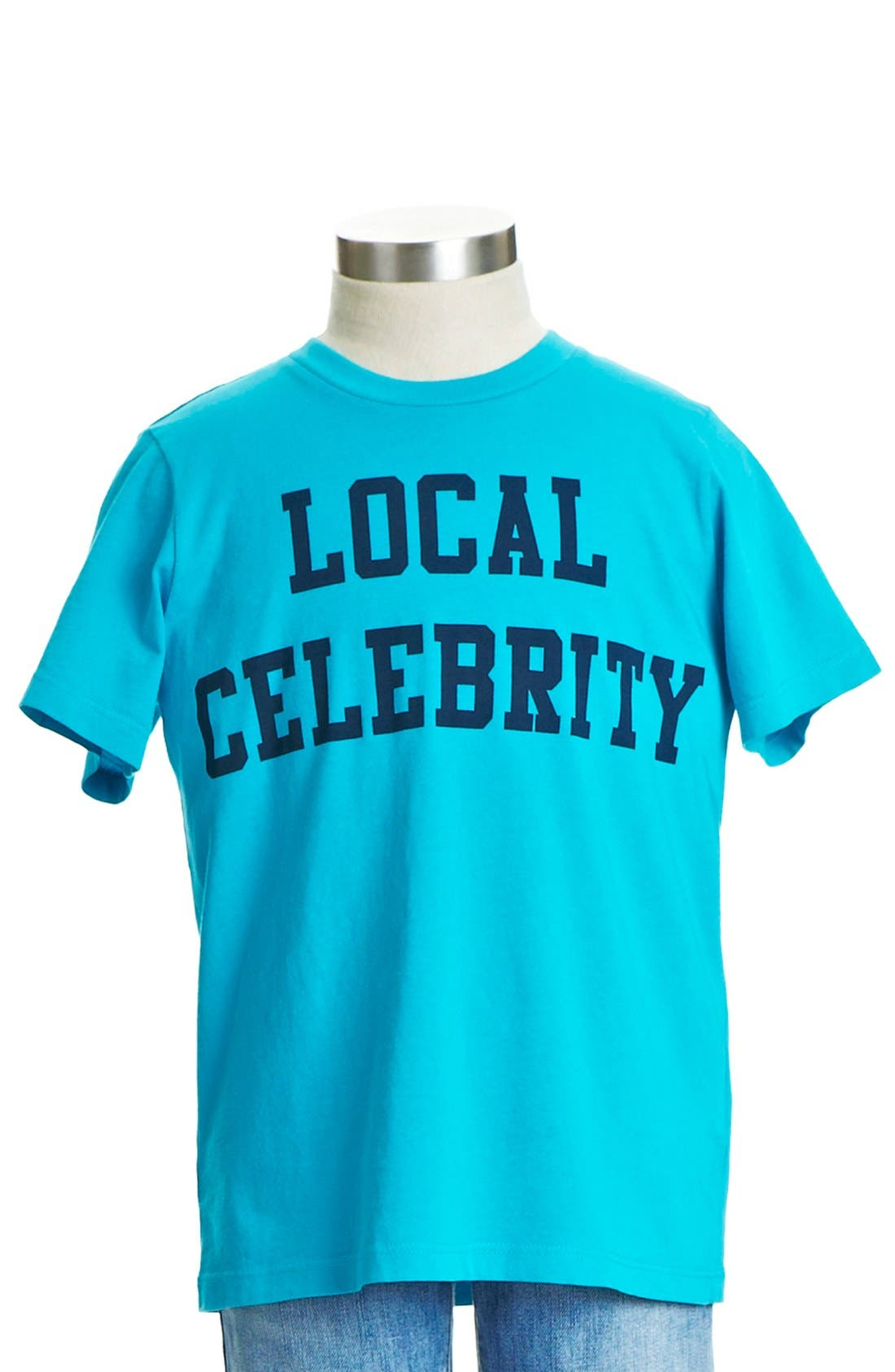 Alternate Image 1 Selected - Peek 'Local Celebrity' T-Shirt (Toddler Boys, Little Boys & Big Boys)