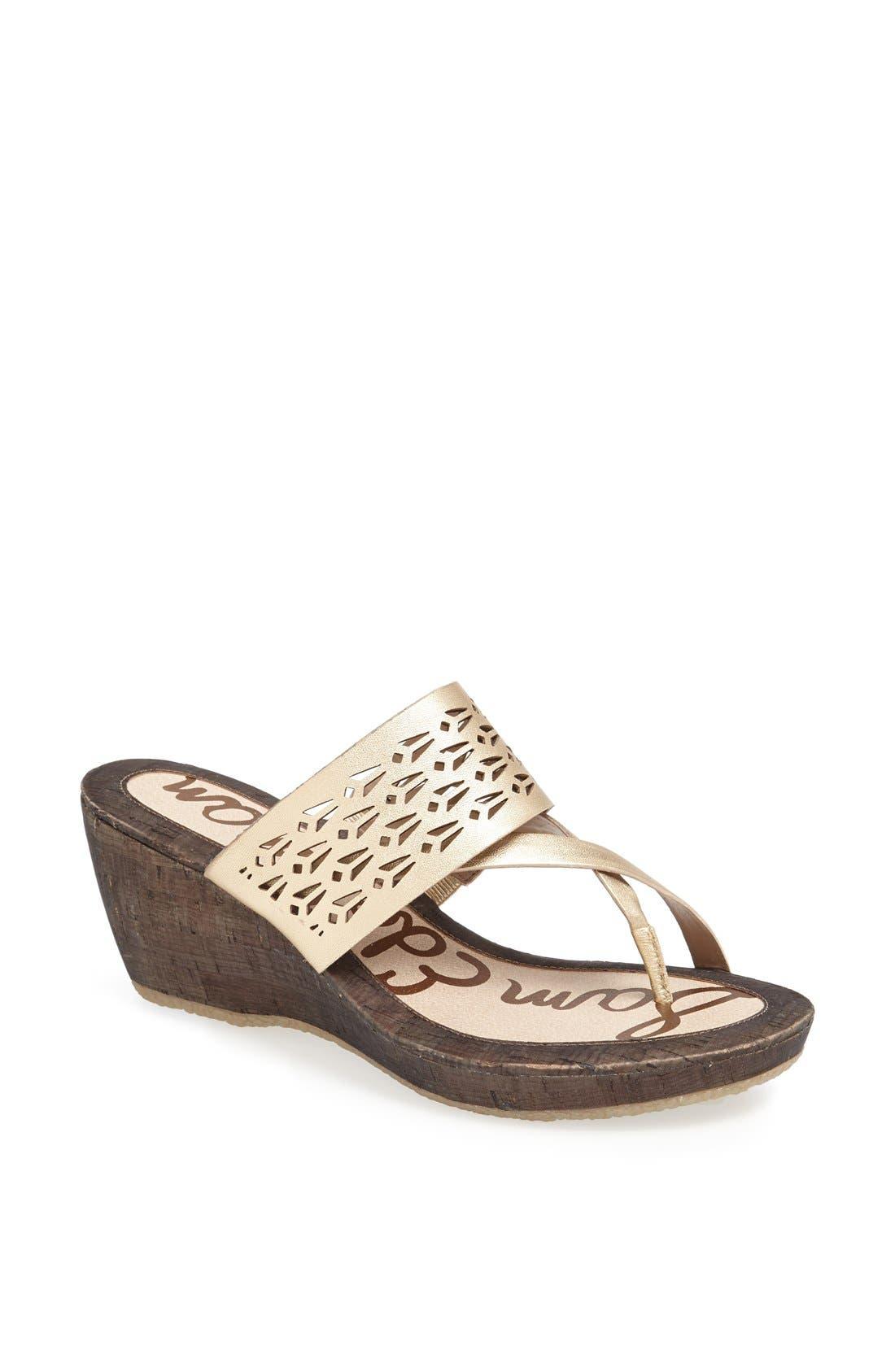 Alternate Image 1 Selected - Sam Edelman 'Nylee' Wedge Sandal