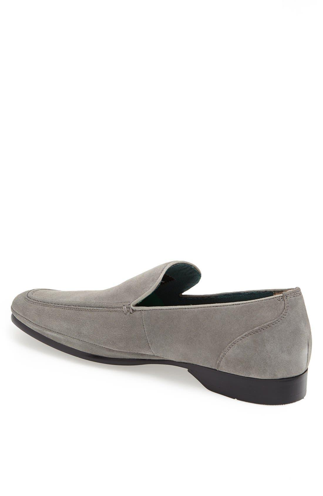 Alternate Image 2  - Florsheim 'Fluent' Suede Venetian Loafer