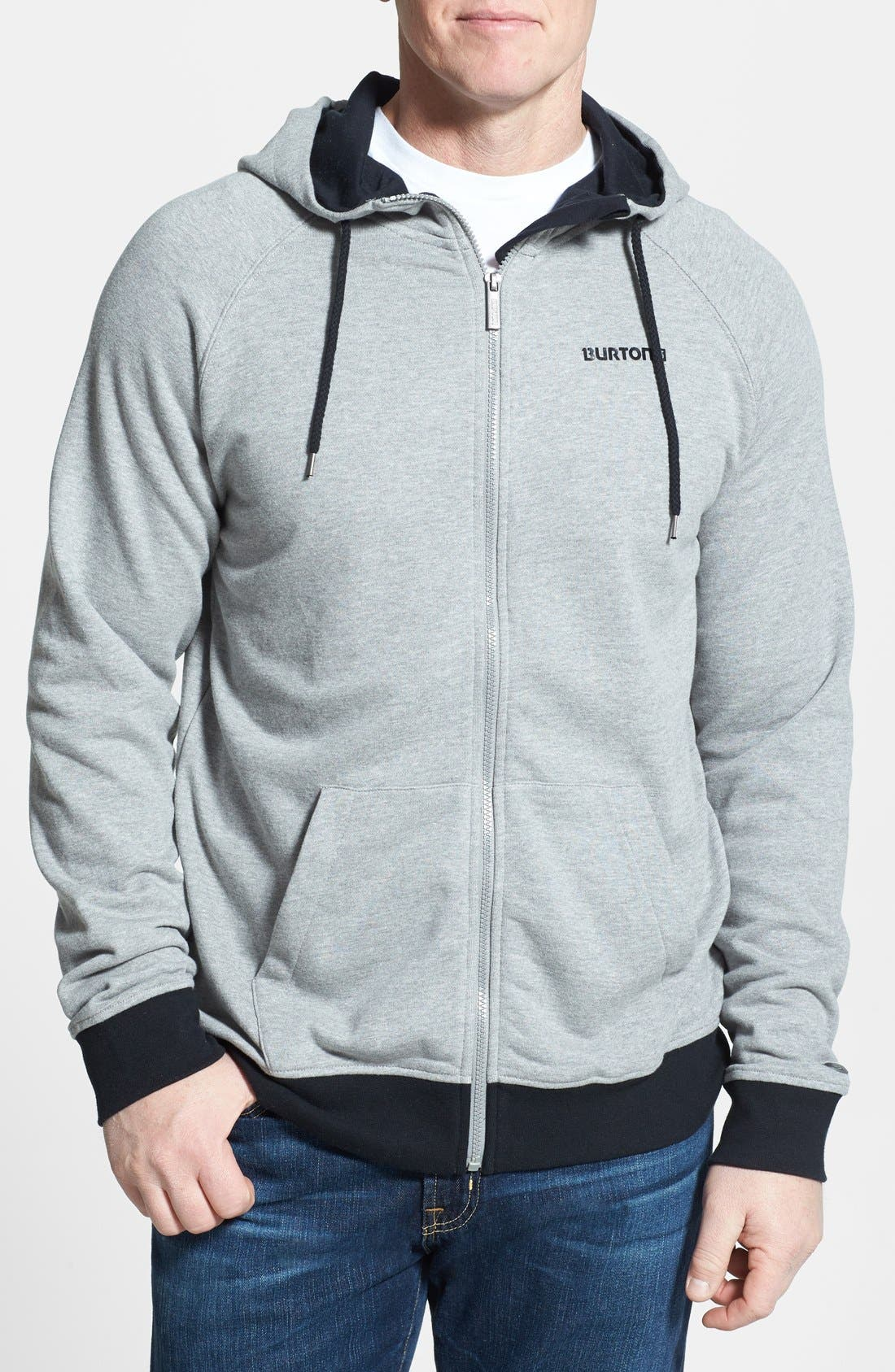 Alternate Image 1 Selected - Burton 'Rainier' Full Zip Hoodie