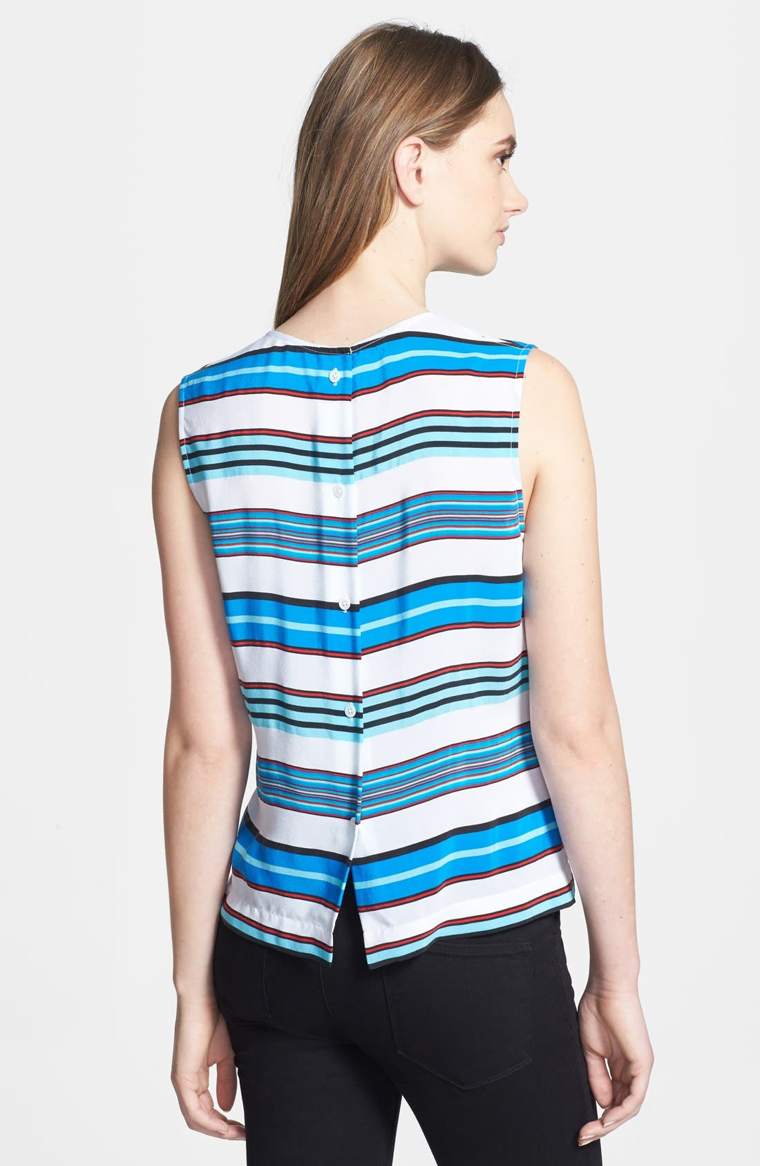 Alternate Image 2  - Equipment 'Reagan' Multi Stripe Silk Blouse