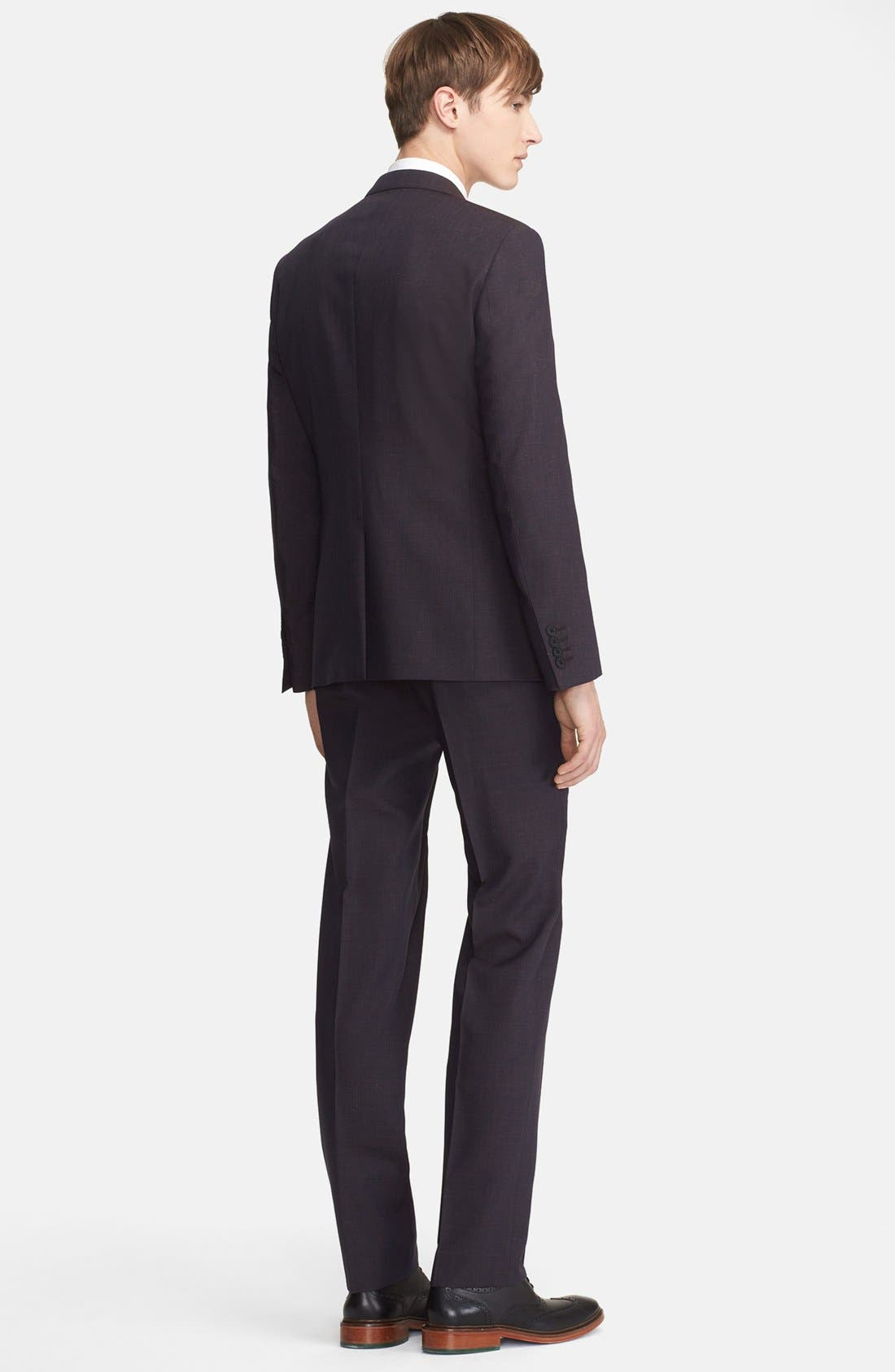 Alternate Image 2  - Paul Smith London 'Byard' Mélange Wool Blend Suit