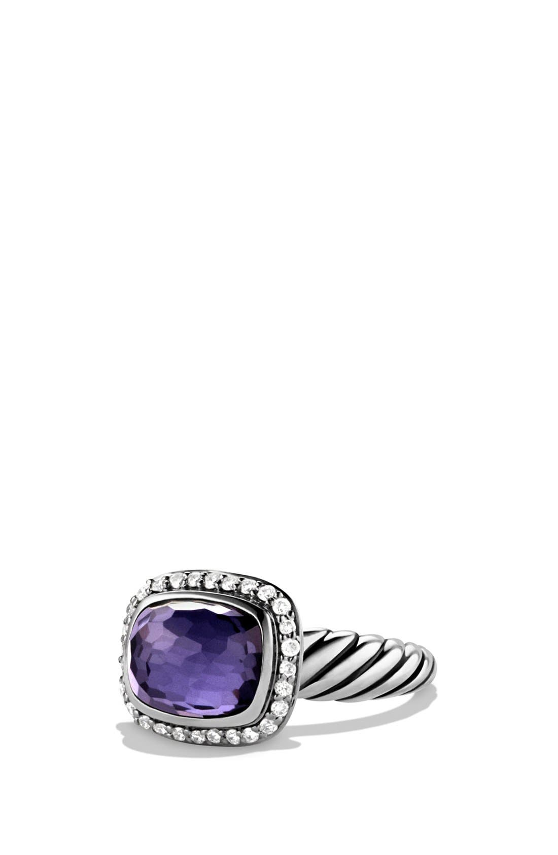 Alternate Image 1 Selected - David Yurman 'Noblesse' Ring with Diamonds