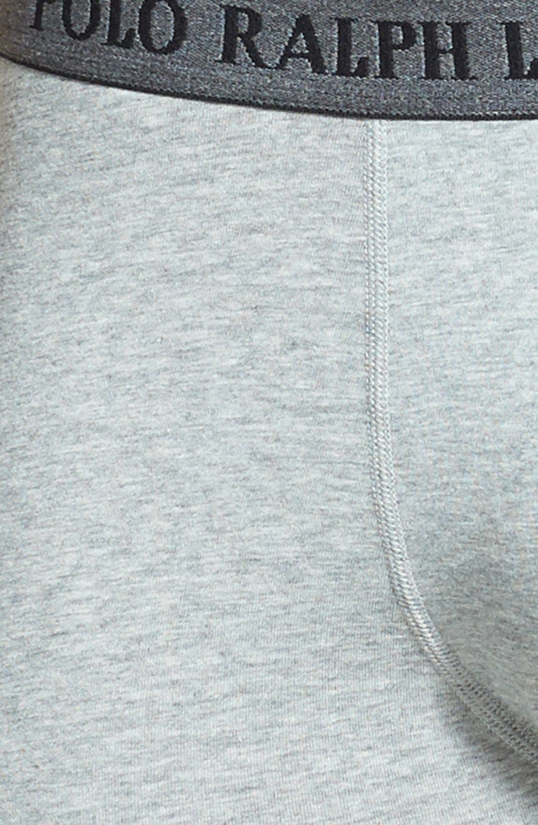 Alternate Image 3  - Polo Ralph Lauren Stretch Jersey Boxer Briefs