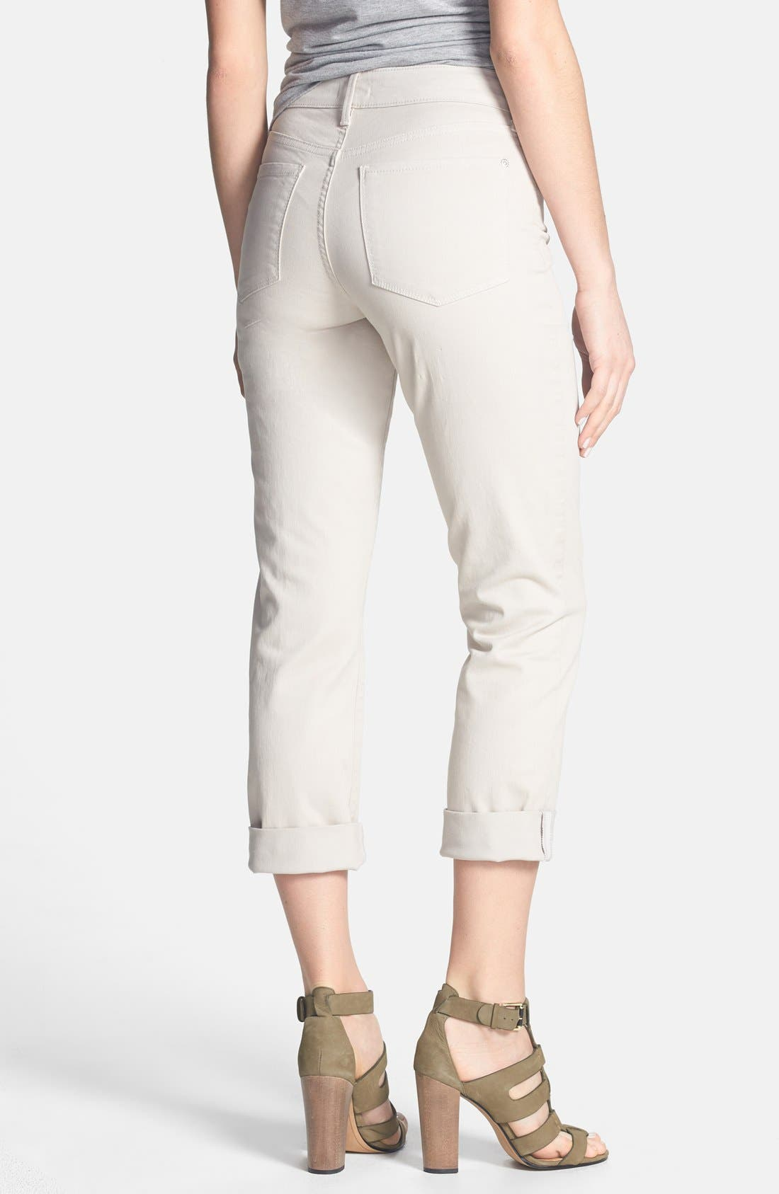 Alternate Image 2  - NYDJ 'Bobbie' Stretch Boyfriend Jeans (Regular & Petite)