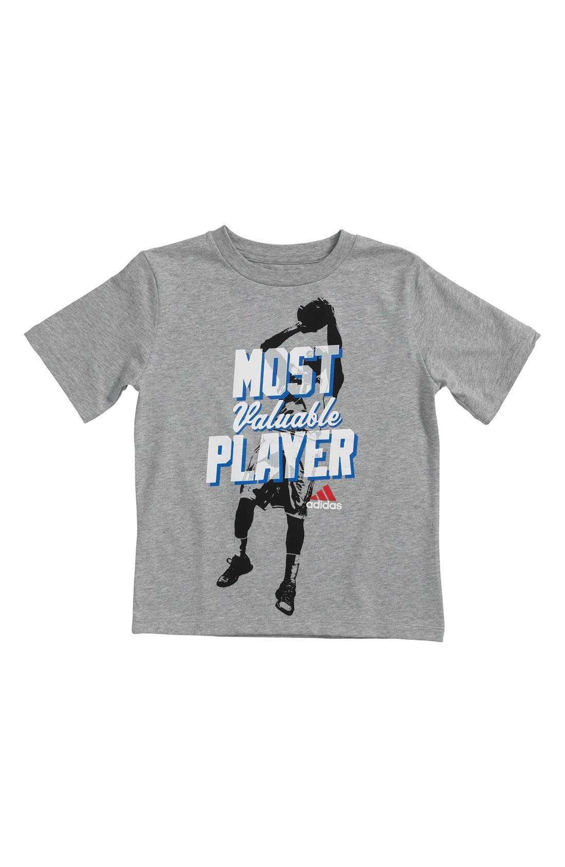 Alternate Image 1 Selected - adidas 'Rookie of the Year' T-Shirt (Little Boys)