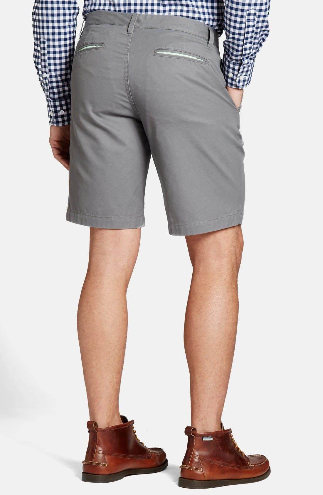 "Alternate Image 2  - Bonobos 9"" 'B's Knees' Washed Cotton Chino Shorts"