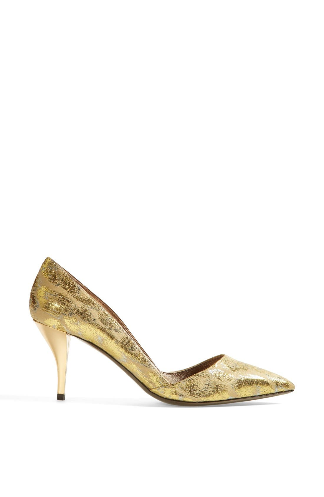 Alternate Image 4  - Lanvin Metallic Jacquard Pump