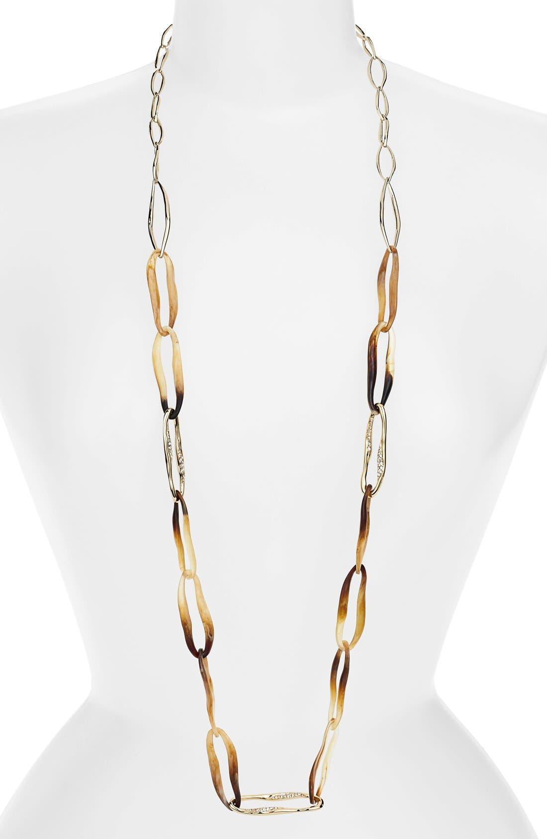 Alternate Image 1 Selected - Alexis Bittar 'Miss Havisham - Liquid' Extra Long Link Necklace