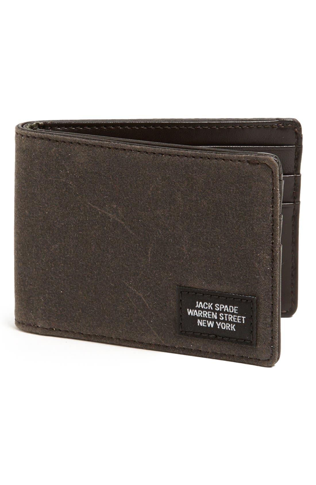 Main Image - Jack Spade 'Waxwear' Wallet