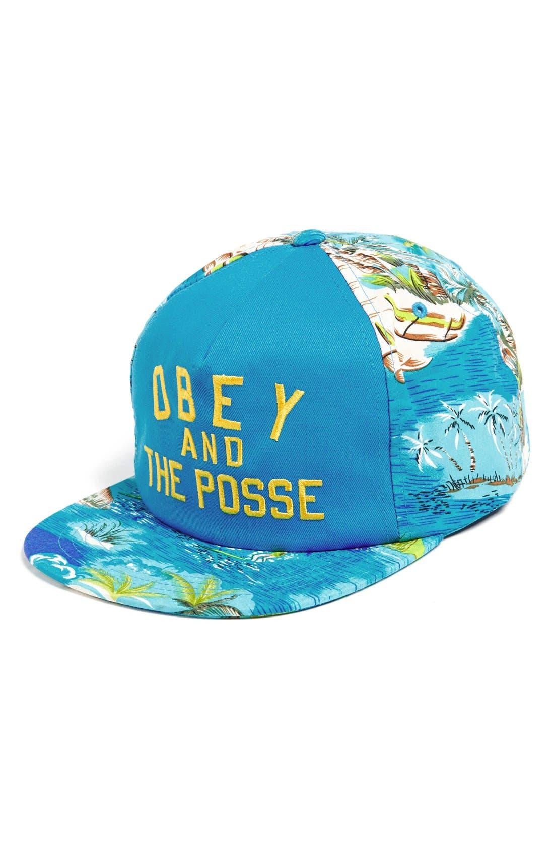 Main Image - Obey 'Adventure' Snapback Cap
