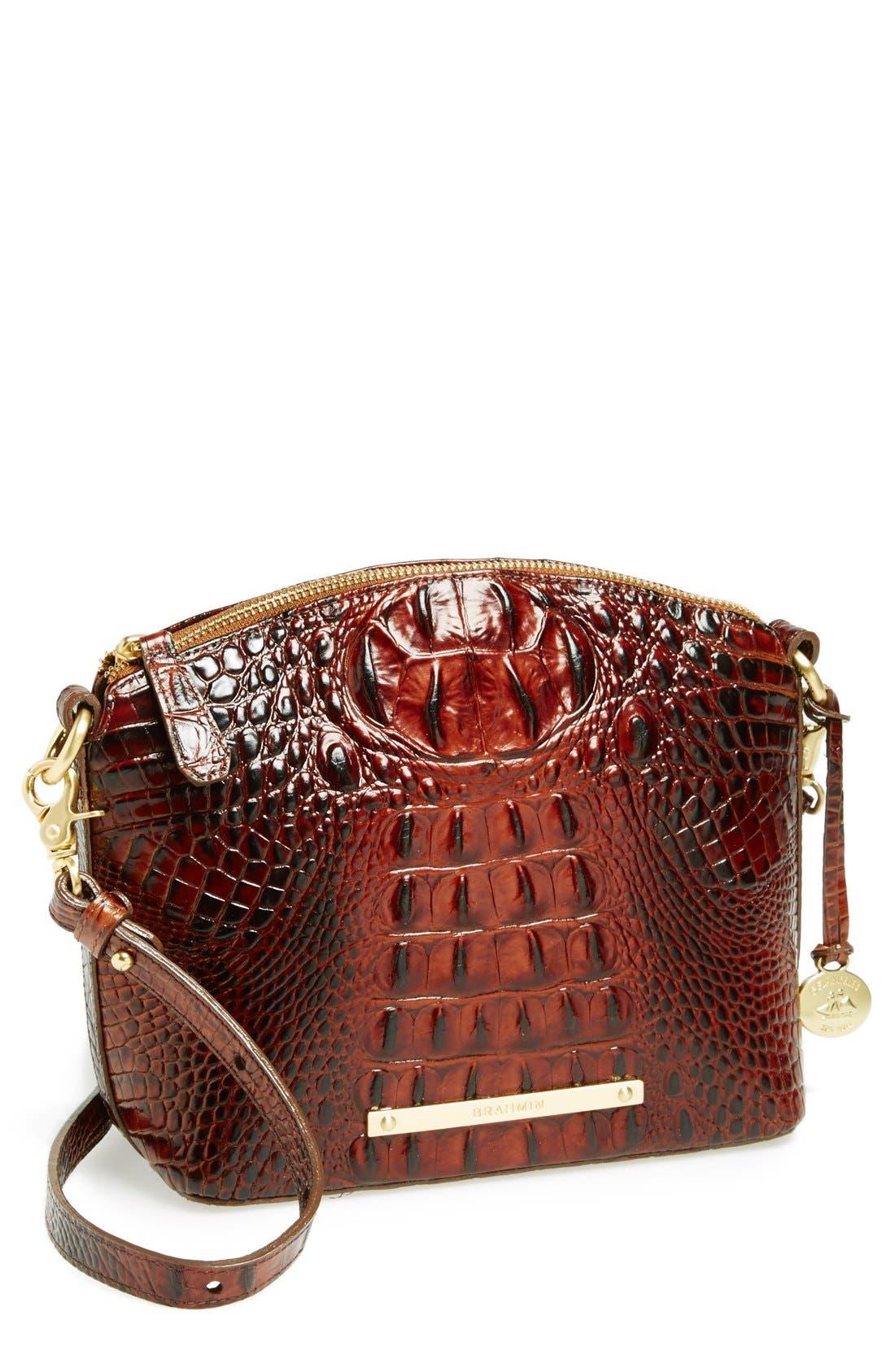 Alternate Image 1 Selected - Brahmin 'Mini Duxbury' Crossbody Bag