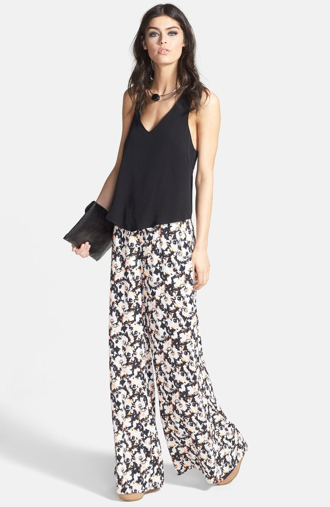 Alternate Image 4  - ASTR Wide Leg Pants