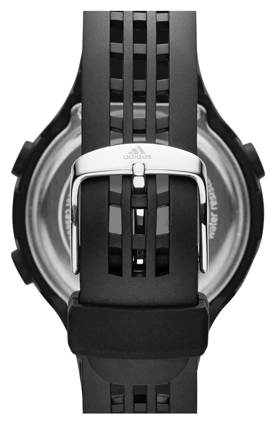 Alternate Image 2  - adidas Originals 'Questra' Rubber Strap Watch, 42mm