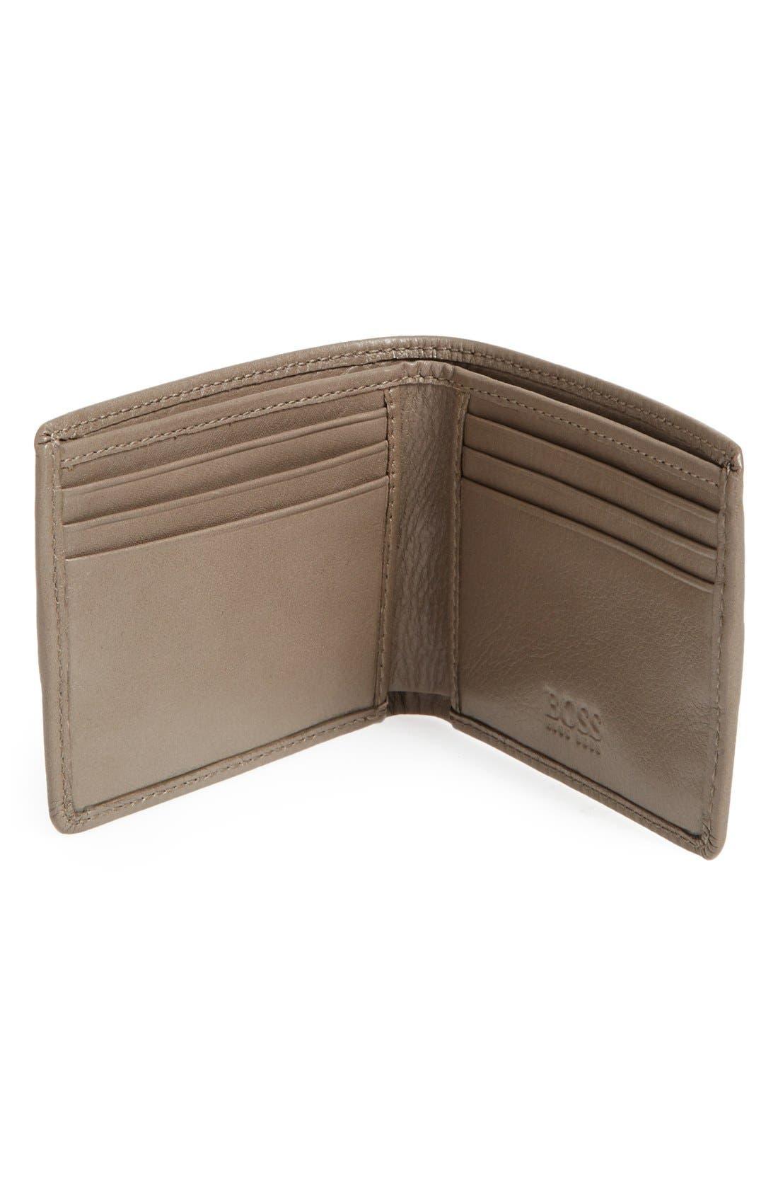 Alternate Image 3  - BOSS HUGO BOSS 'Sadonte' Leather Wallet