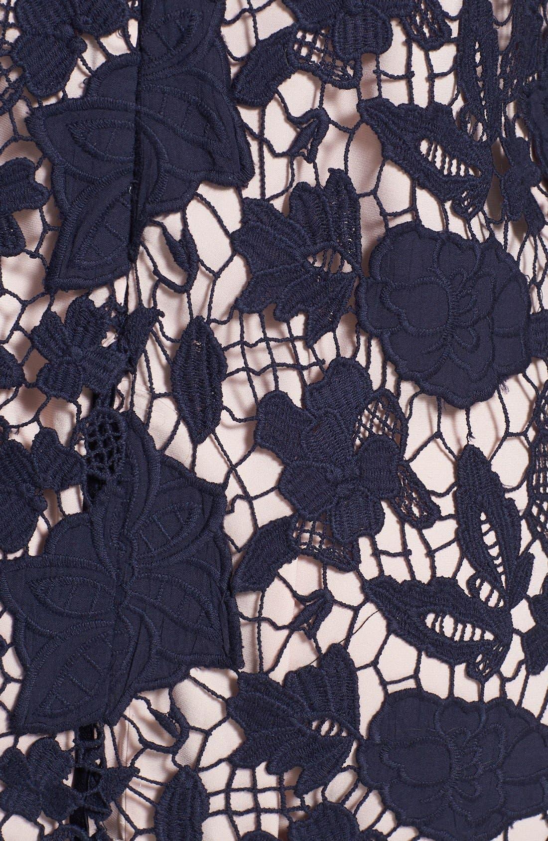 Alternate Image 3  - ERIN erin fetherston 'Amaryllis' Floral Lace Shift Dress