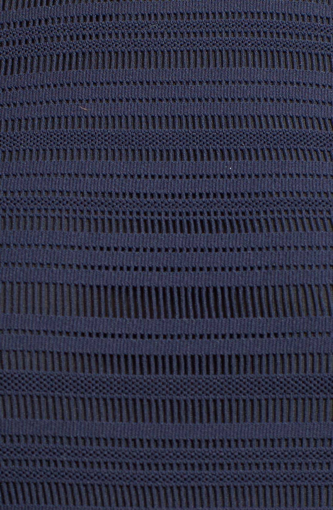 Alternate Image 3  - rag & bone 'Basha' Leather Trim Dress
