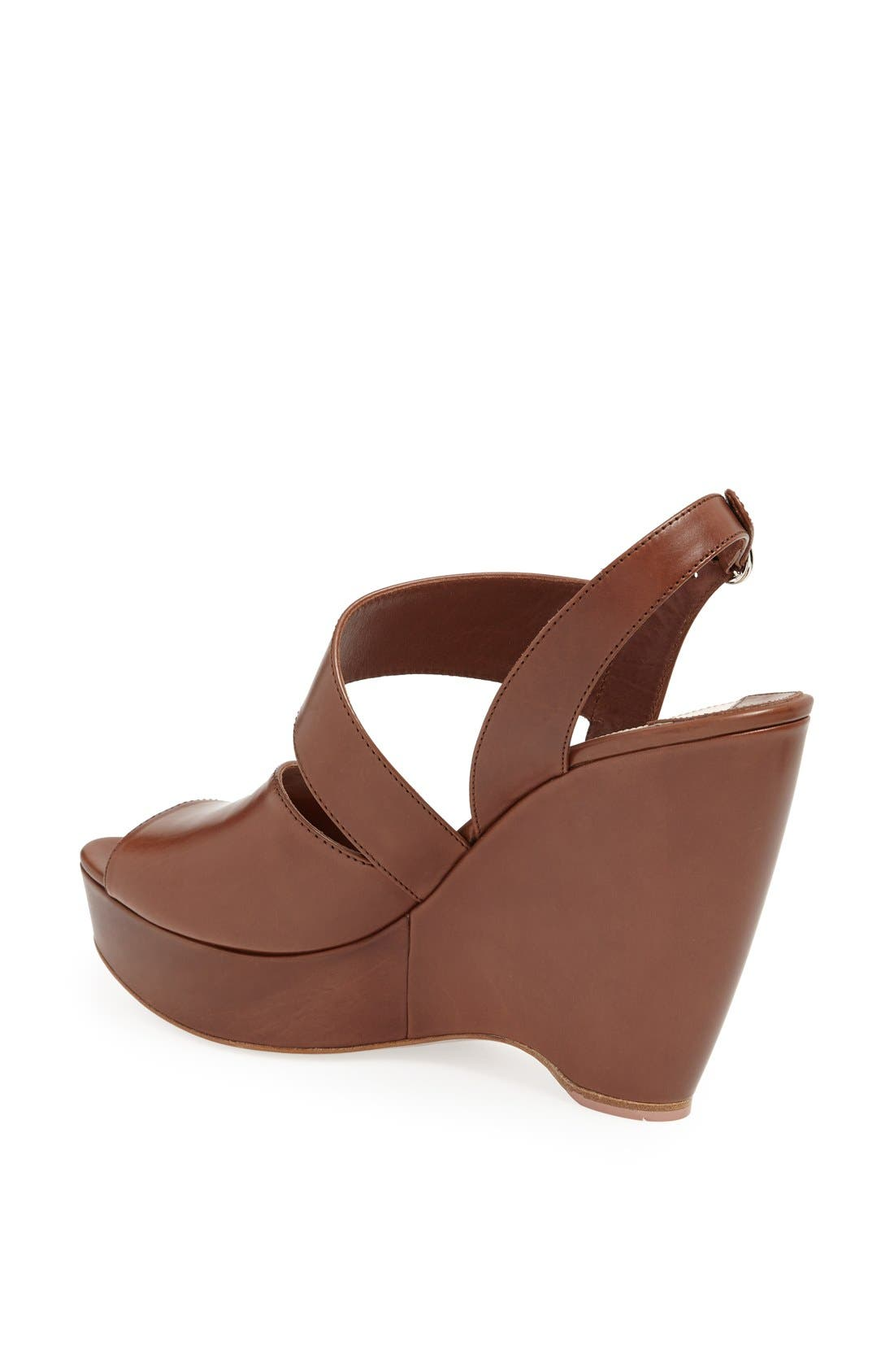 Alternate Image 2  - Prada Asymmetrical Wedge Sandal