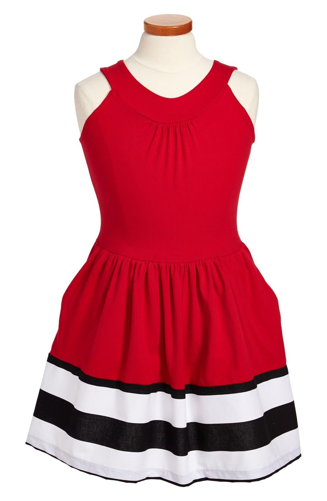 Main Image - Fiveloaves Twofish 'Unexpected' Dress (Little Girls & Big Girls)