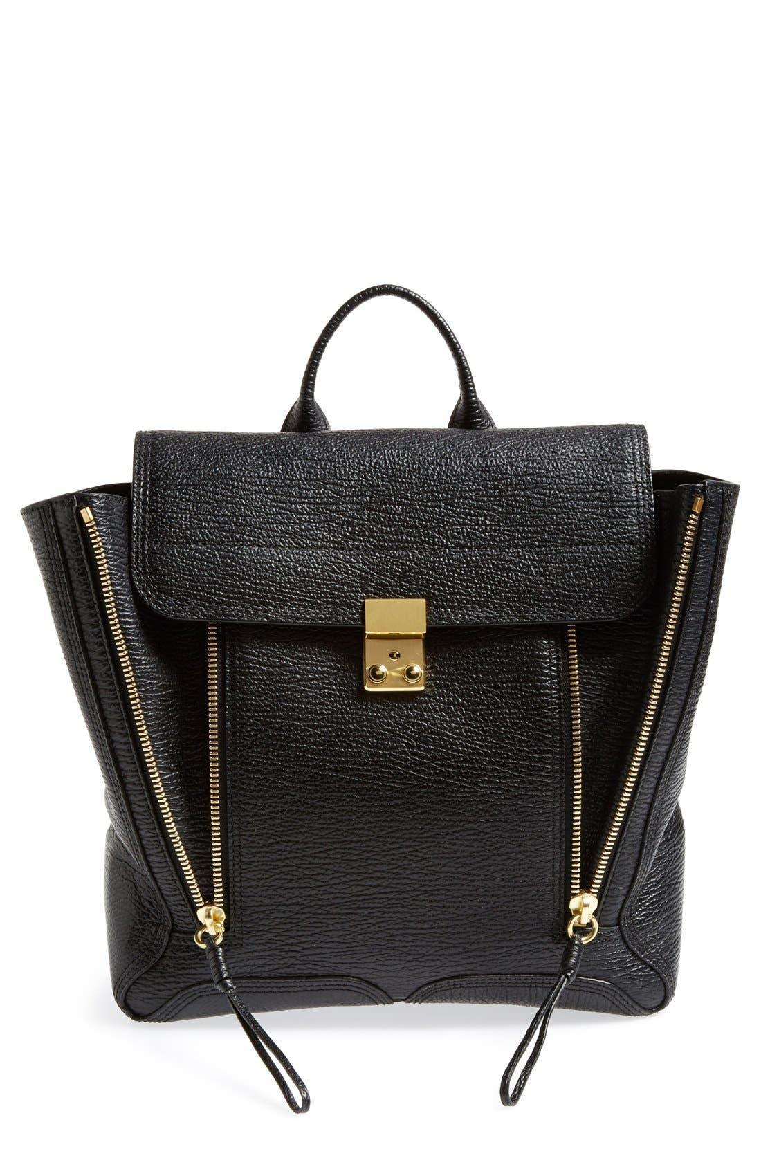 Alternate Image 1 Selected - 3.1 Phillip Lim 'Pashli' Leather Backpack