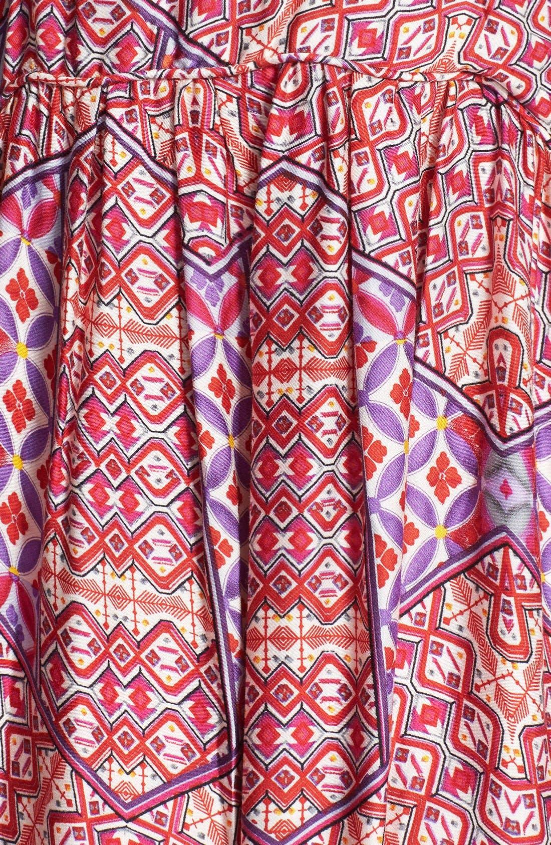 Alternate Image 3  - MINKPINK Tile Print Maxi Dress