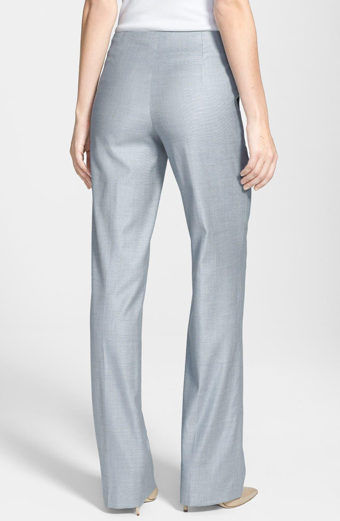 Alternate Image 2  - BOSS HUGO BOSS 'Tillina' Stretch Wool Blend Trousers
