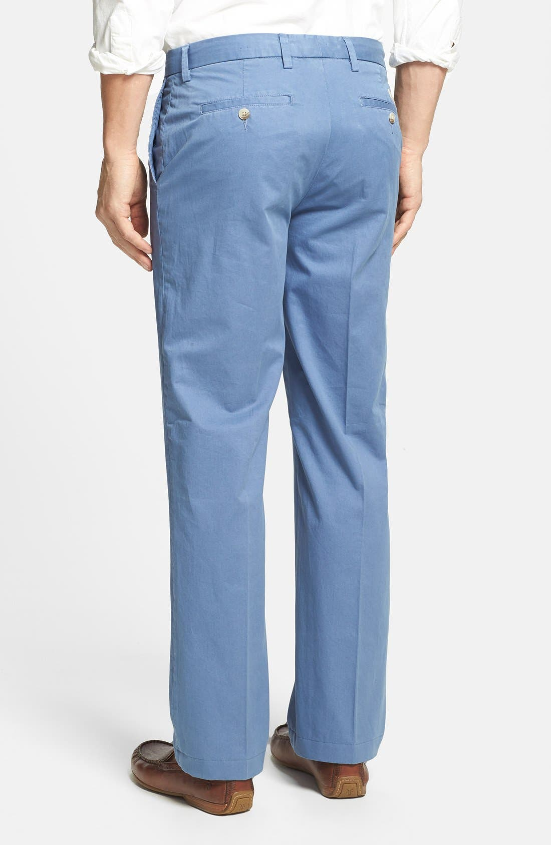 Alternate Image 2  - Maker & Company 'Keck' Easy Fit Flat Front Trousers