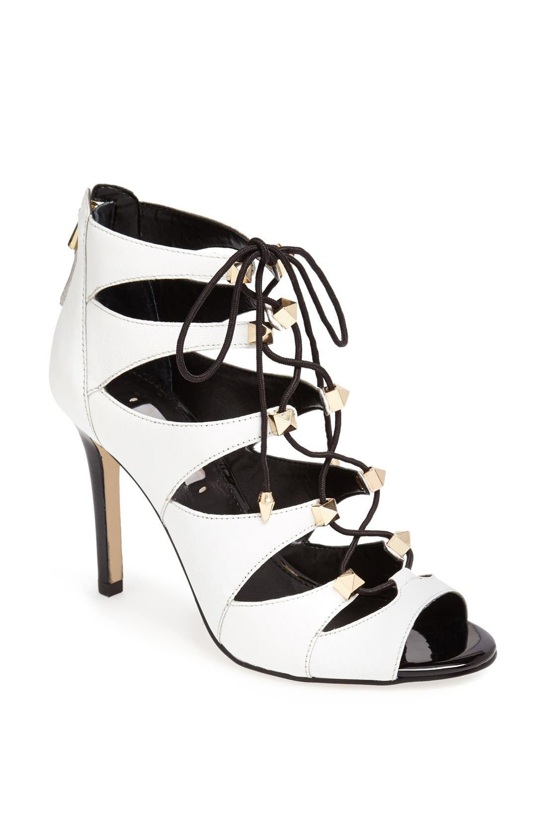 Alternate Image 1 Selected - GUESS 'Legari' Lace-Up Sandal