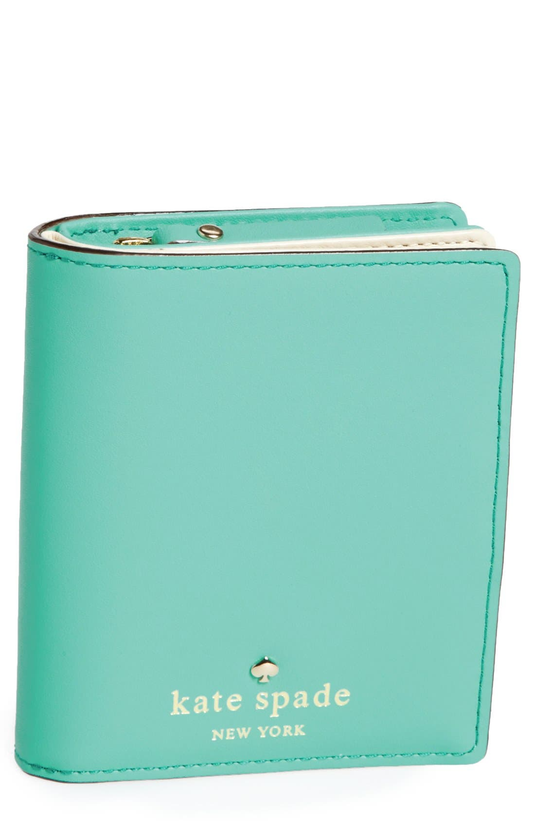 Alternate Image 1 Selected - kate spade new york '2 park avenue - buttercup' wallet