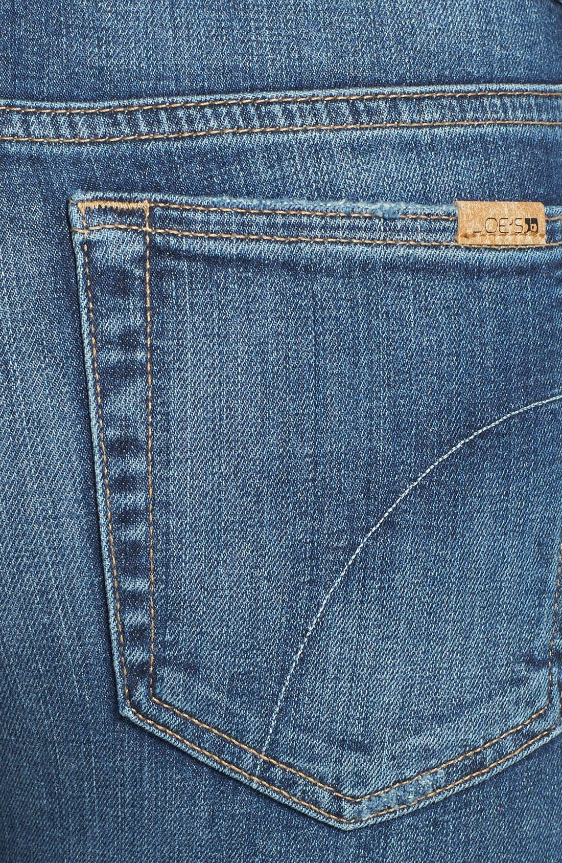 Alternate Image 2  - Joe's Crop Skinny Jeans (Judi)