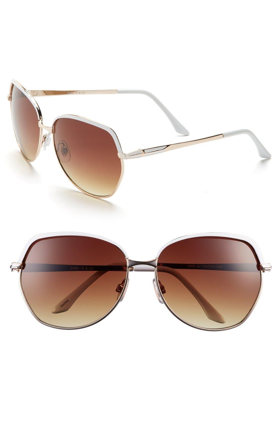 Alternate Image 1 Selected - Fantas Eyes 'Incognito' 62mm Sunglasses (Juniors)