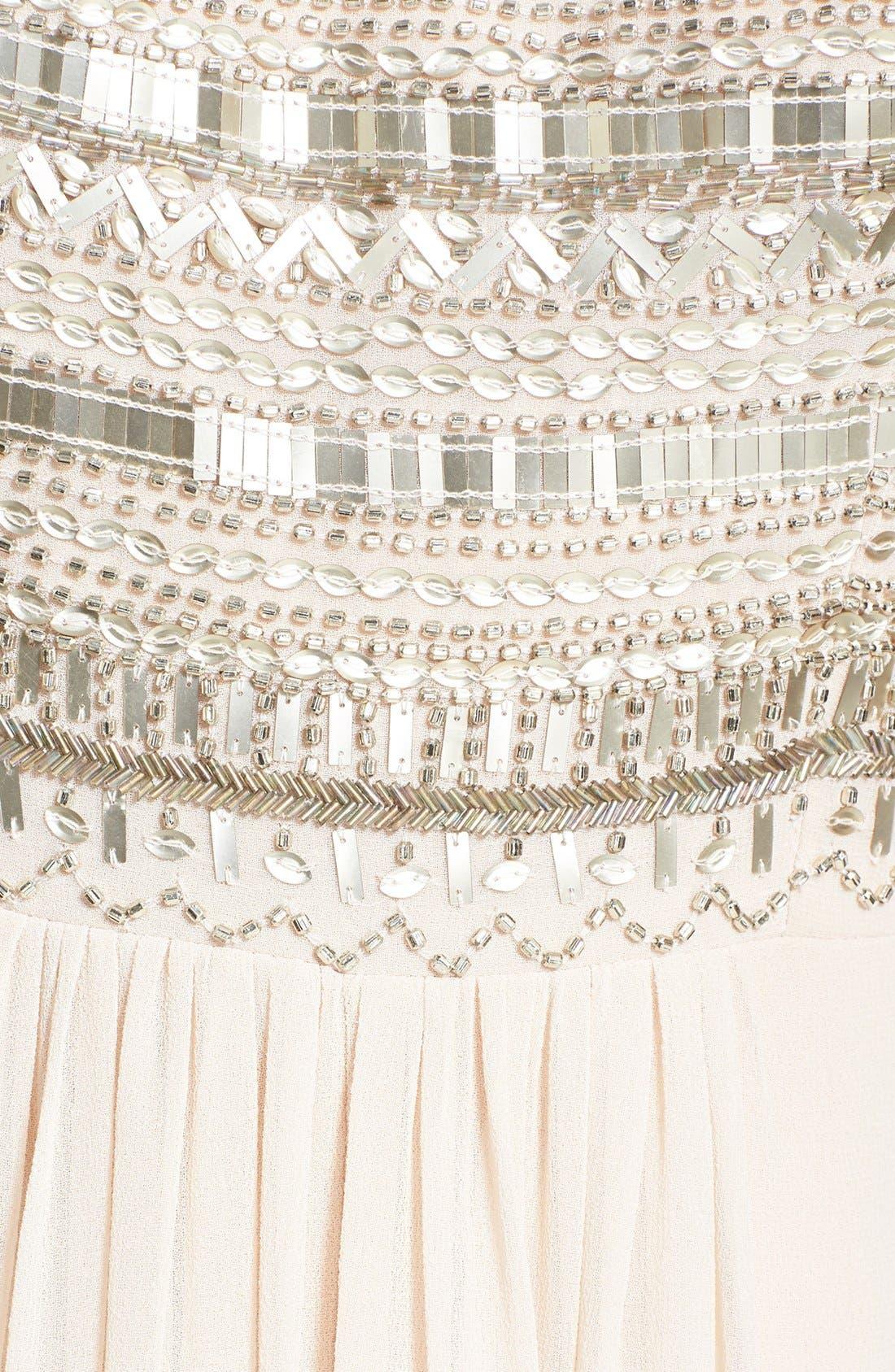 Alternate Image 3  - Aidan Mattox Embellished Bodice Strapless Gown