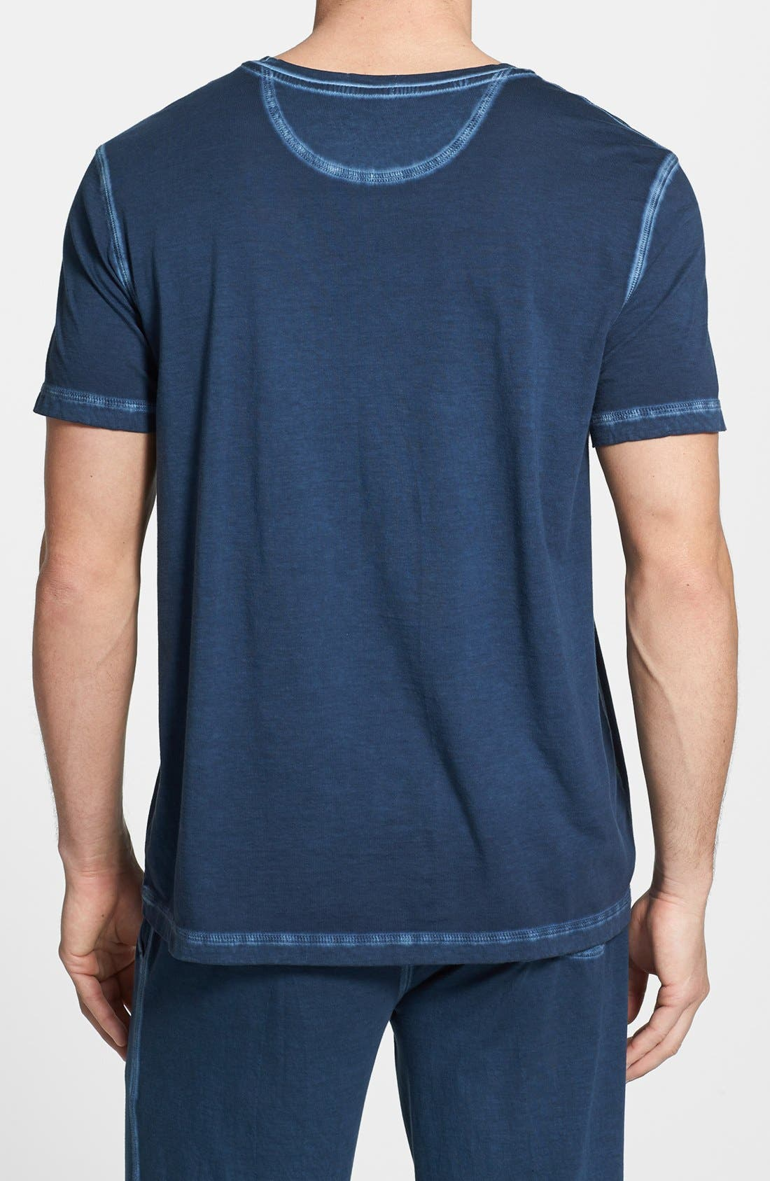 Alternate Image 2  - Daniel Buchler Peruvian Pima Cotton T-Shirt