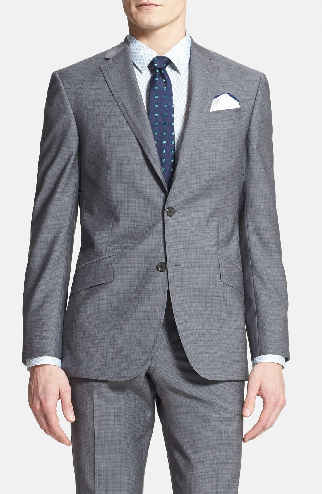Alternate Image 3  - Ted Baker London 'Jones' Trim Fit Wool Suit
